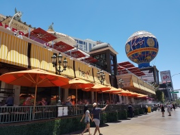 Restaurant auf dem Strip