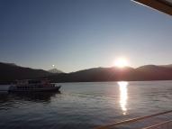 Teegernsee mit Sonne und Mond
