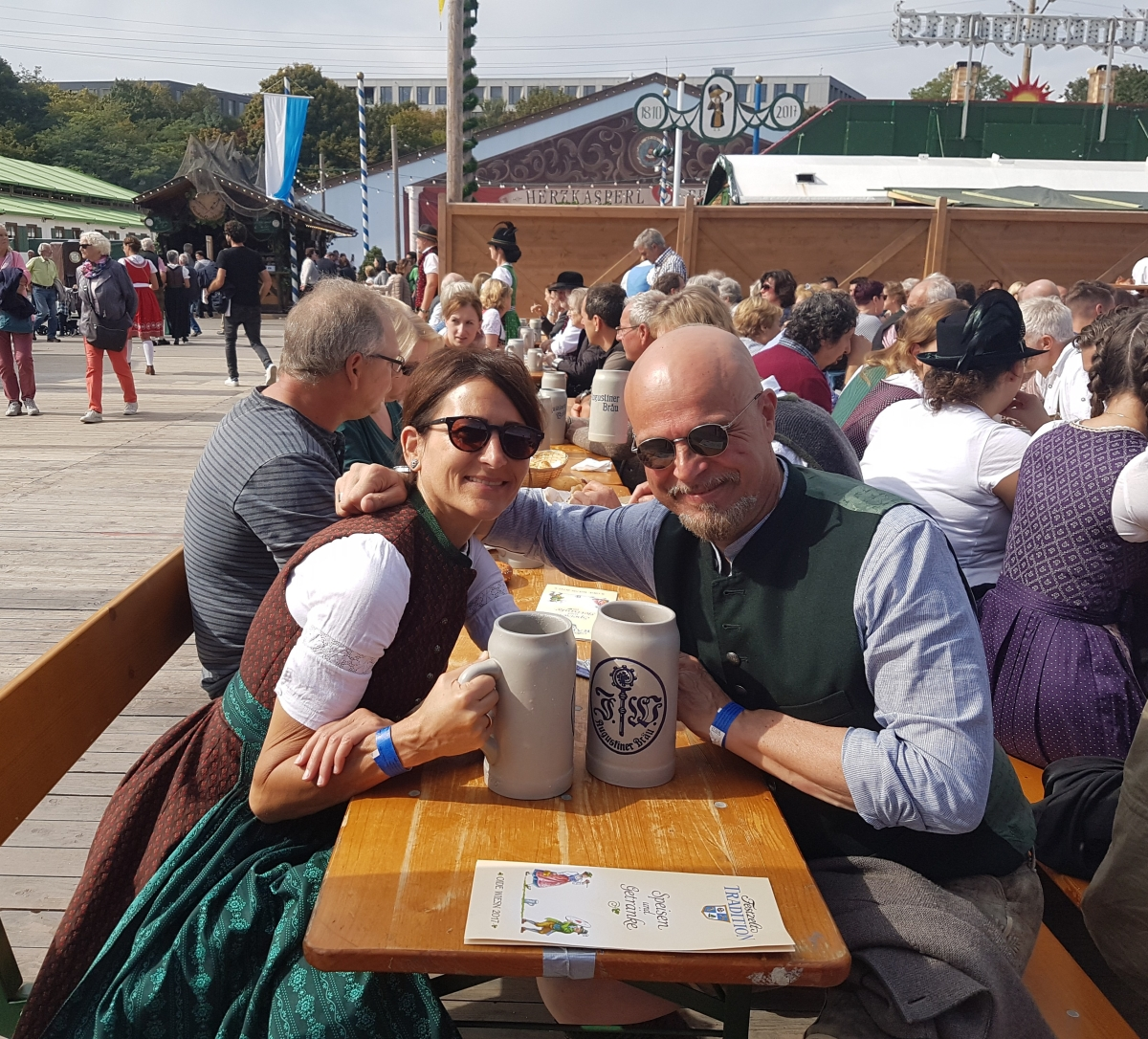 Bavarian Gemütlichkeit oder Warum ich Tracht liebe