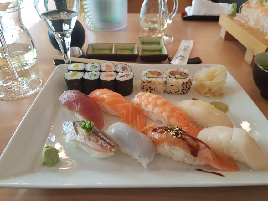 Sushi Platte mit Nigiri