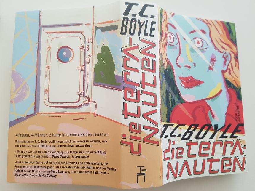 Büchergilde Edition von Die Terranauten