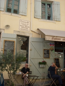 Café in Gordes