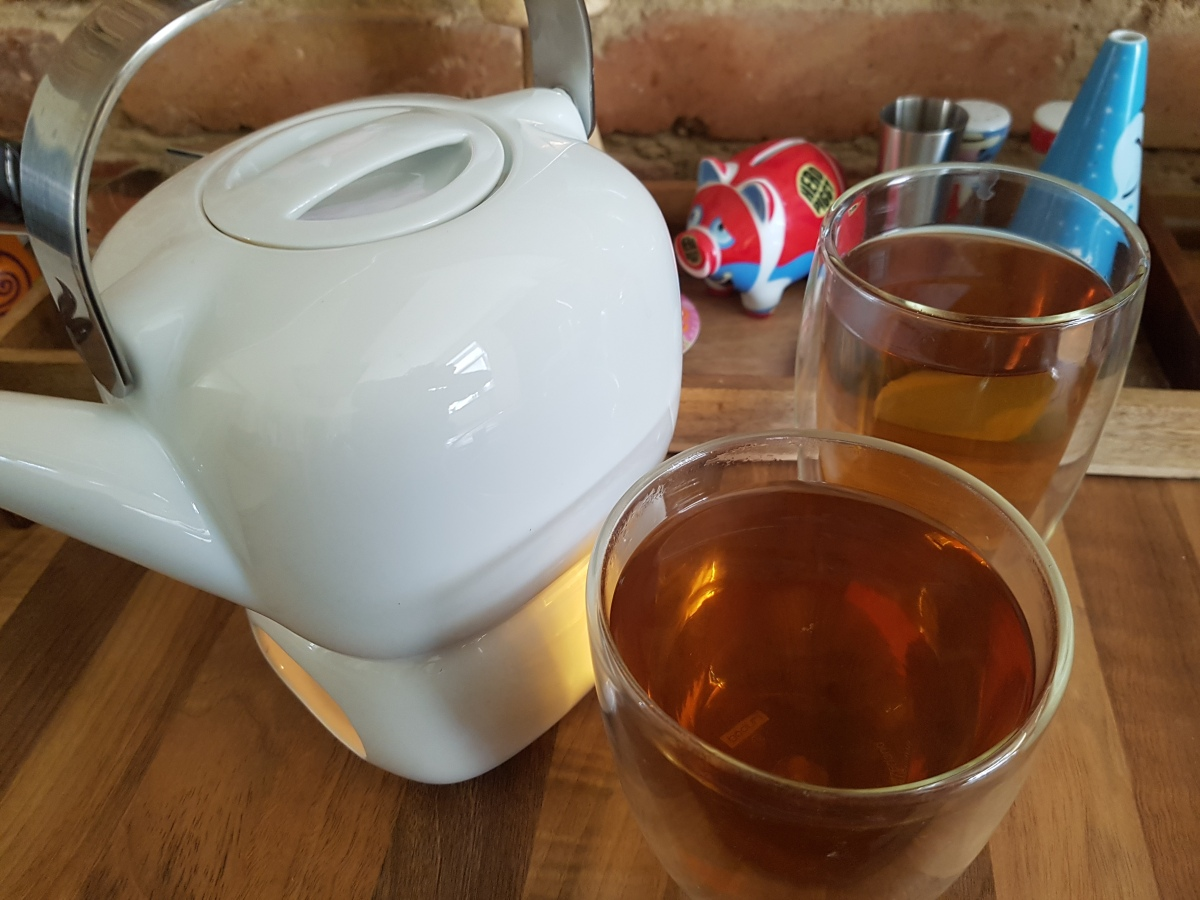 Tea for two, you for me...