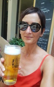 Brille Saint Laurent mit neuer Frisur