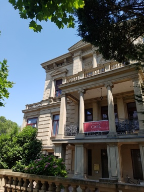 Villa Literaturhaus Clementine an der Rue