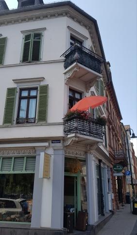 Nerostraße Ecke Saalgasse
