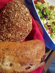 dazu ein schönes Brot