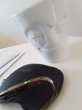 Babbeltasse und Mouse