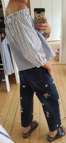 Jeans mit Bestickung von Weekend Max Mara