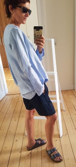 Leinen Outfit