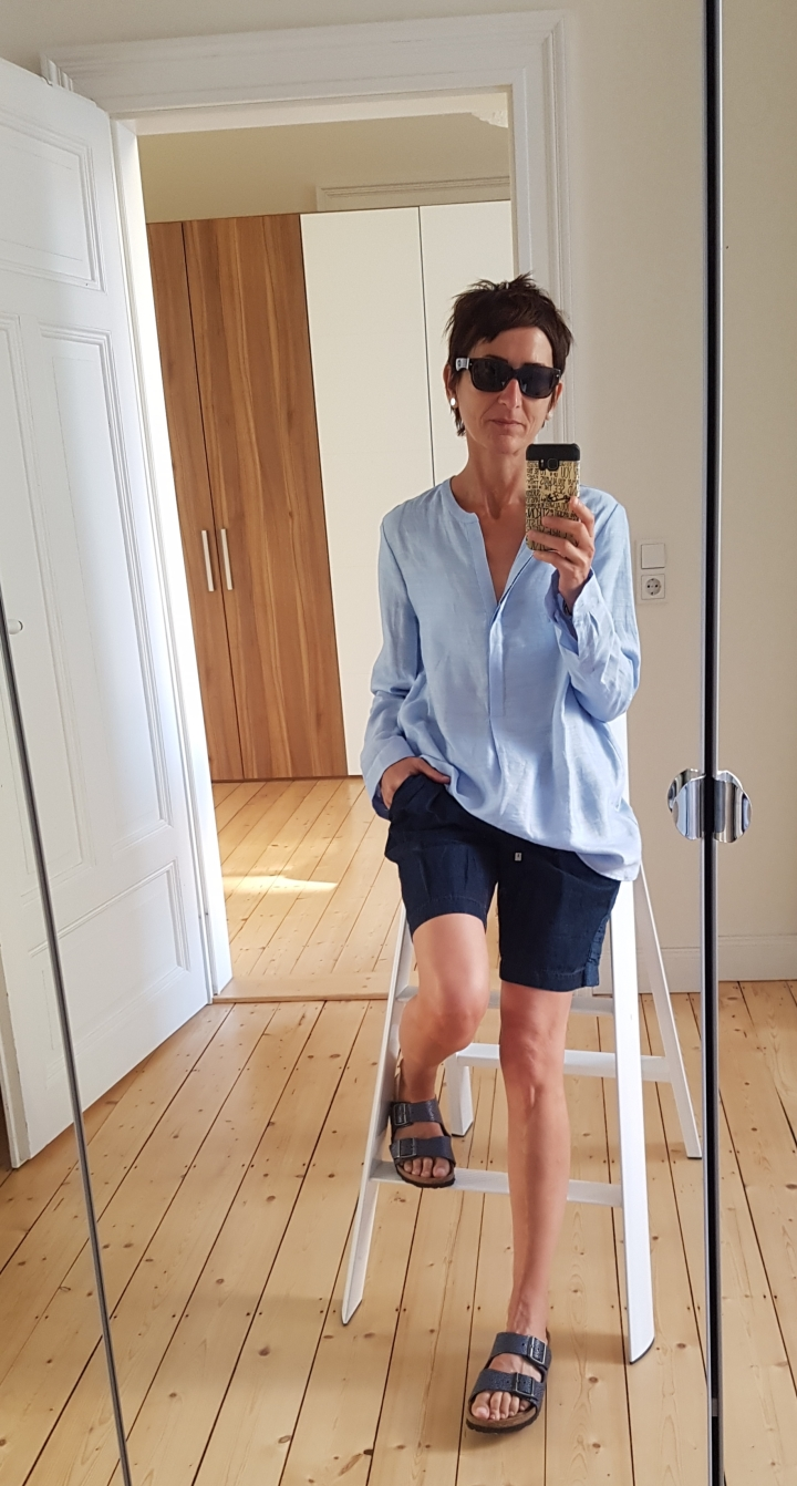 Outfit of the day: Leinen