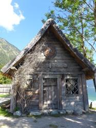 Wikingerdorf am Walchensee, Kulisse für den Film Viki der Wikinger